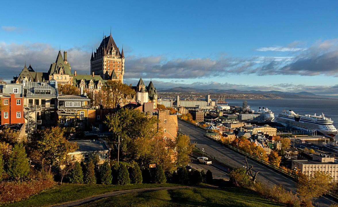 Old Town Quebec: European Charm image