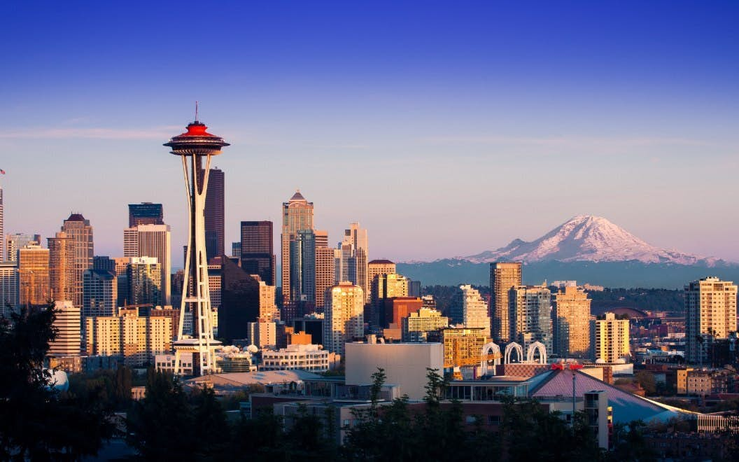 Historical Downtown of Seattle image