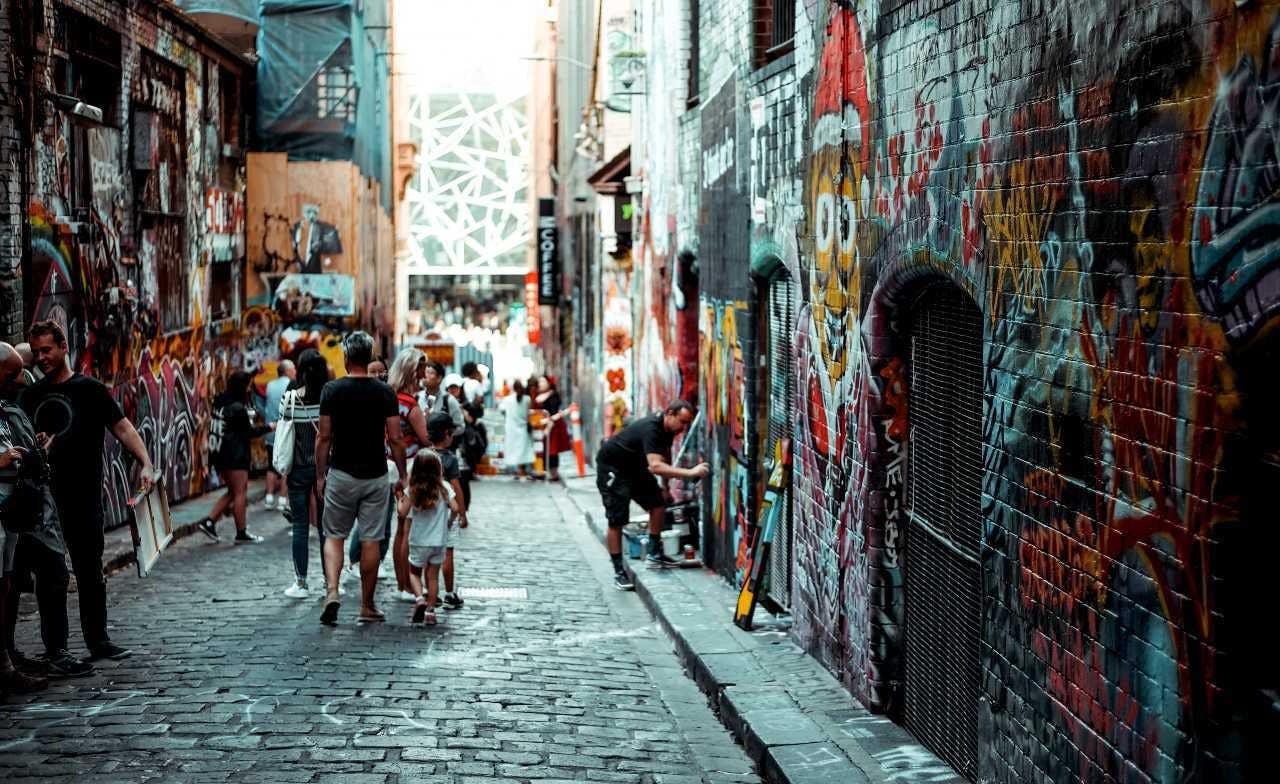 Street Art of Melbourne image