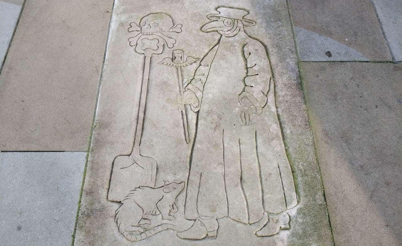 Historical London: The Great Plague  image