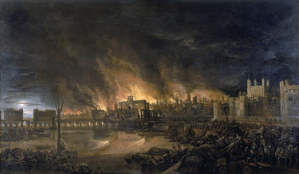 Great Fire of London: The Path of Destruction image