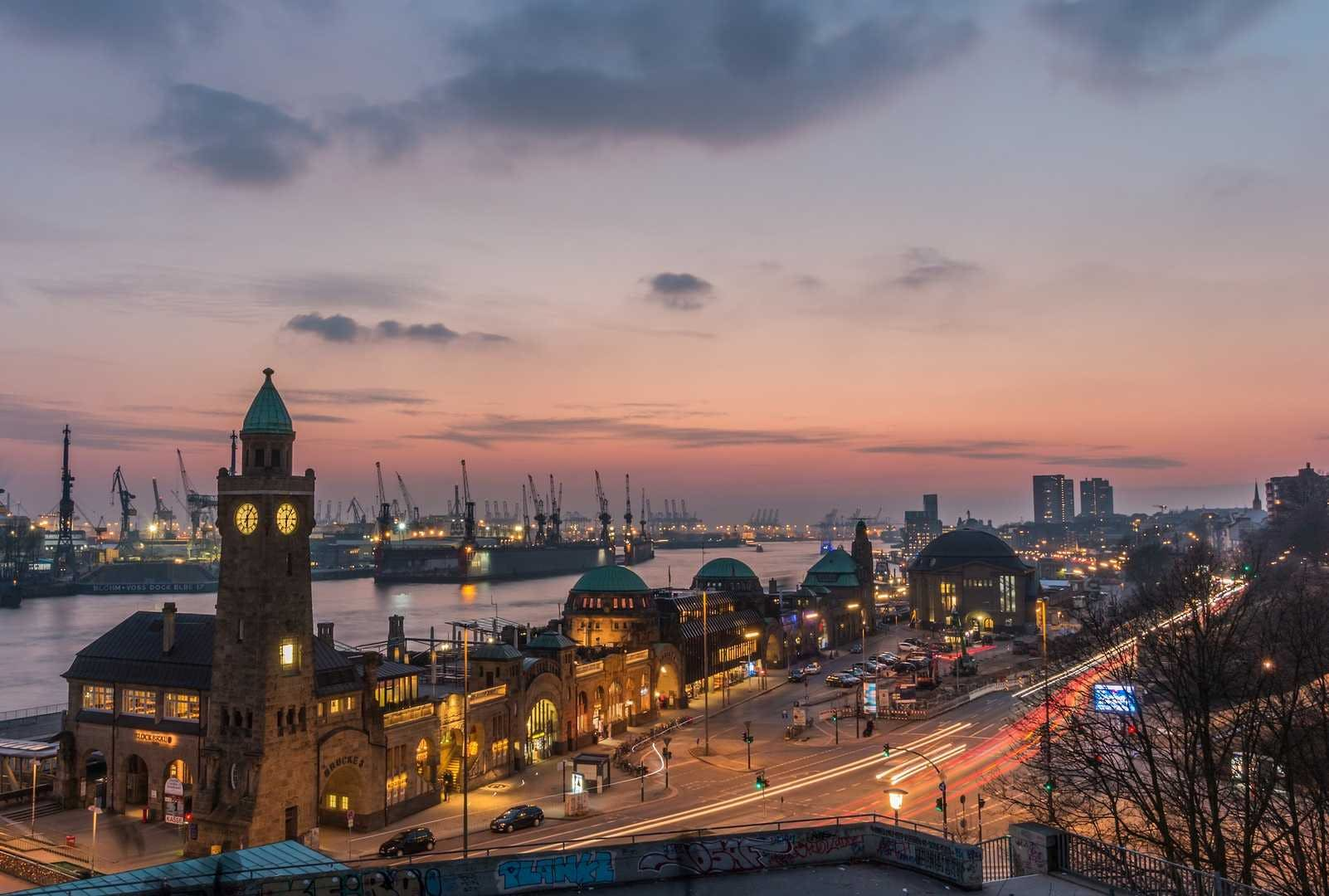 Waterfront Hamburg: The Views and the History [QUEST IN TEST MODE] image